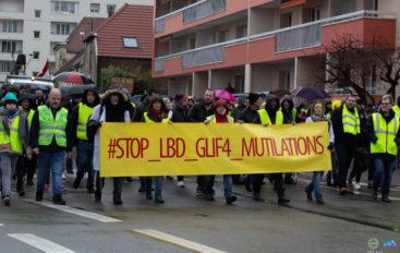 Photoreportage: L'acte 17 des Gilets Jaunes à Besançon
