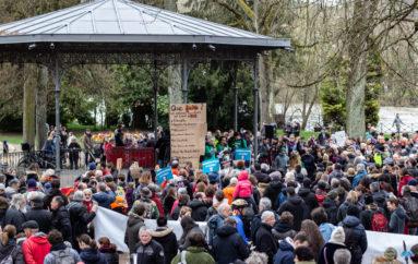 Photoreportage: Marche pour le Climat à Besançon