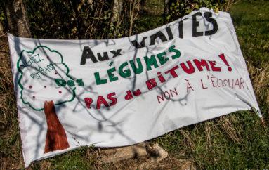 Photo reportage : Jardin des Vaites – Pique-nique de résistance au projet immobilier