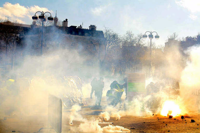 Reportage vidéo: Revivez l'acte 18 de Gilets Jaunes à Paris