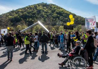Photo reportage : Acte 21 des Gilets Jaunes à Besançon