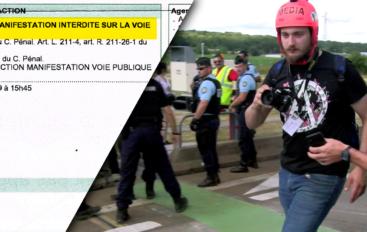La répression contre les médias indépendants continue à Besançon