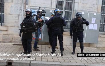 Vidéo: pressions policières que nos journalistes ont subi en 2 ans de couverture des manif