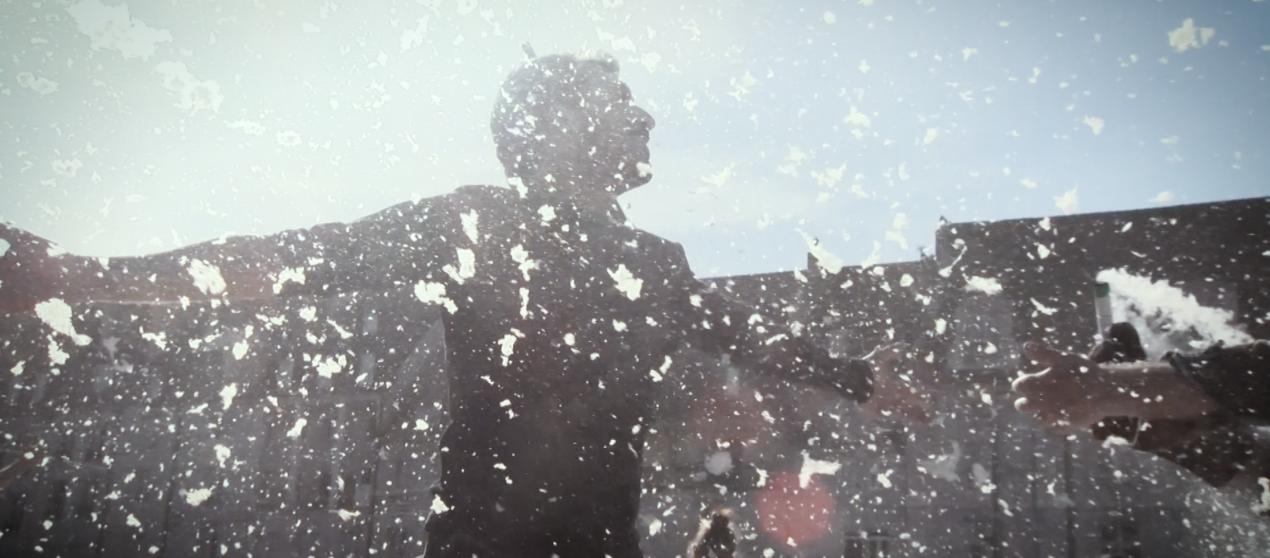 Vidéo: «Happening» des artistes bisontins place de la Révolution