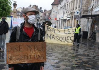 Manifestation Gilets Jaunes à Besançon samedi 23 Mai