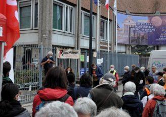 Besançon: grève et mobilisation pour défendre les contrats jeunes majeurs.