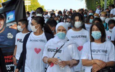 À Planoise, proches et habitants rendent un dernier hommage à Houcine