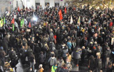 1 000 à 1 500 manifestants contre la loi « sécurité globale » à Besançon
