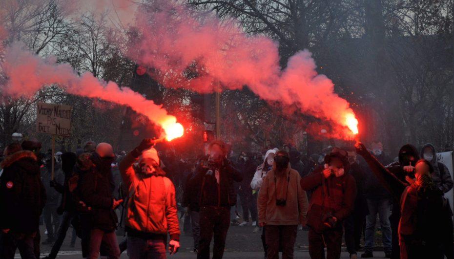 Dijon: de l'objection à l'affrontement, 2 000 manifestants contre la loi «sécurité globale»
