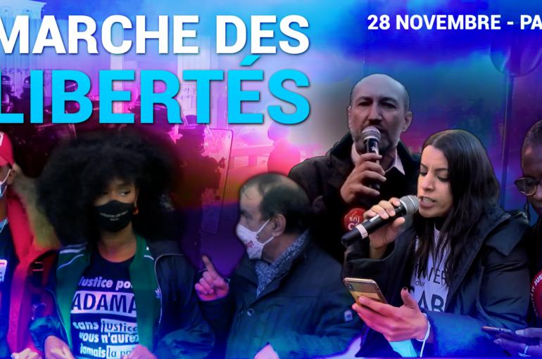 Vidéo : Marche des libertés à Paris