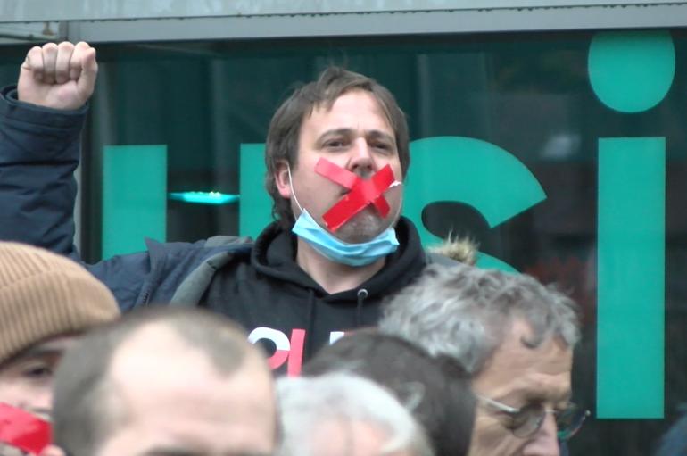 Vidéo – Manifestations pour la culture à Besançon