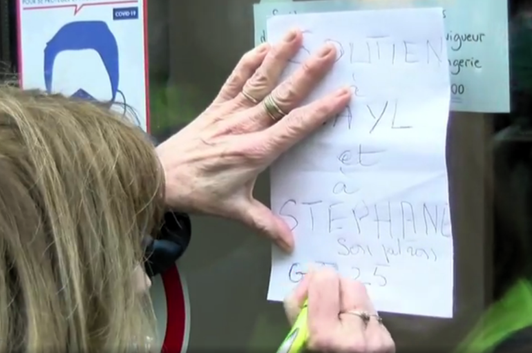 Besançon: les gilets jaunes solidaires d'un apprenti guinéen, visé par une procédure d'expulsion