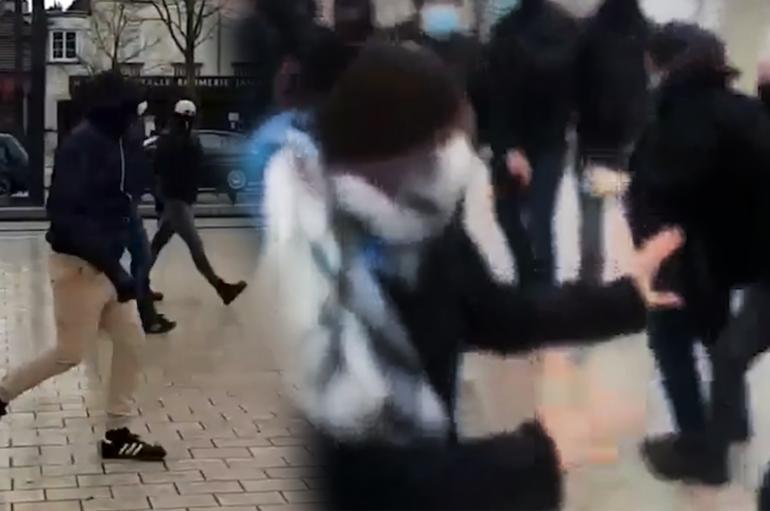 Dijon: un groupe nationaliste attaque des manifestantes féministes