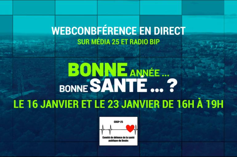 Webconférence: Bonne année… Bonne santé ???