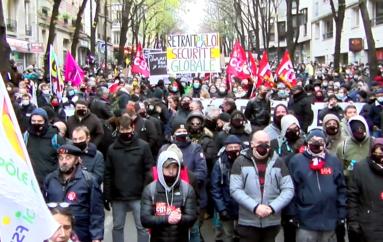 Samedi 30 janvier, Manifestation contre la loi Sécurité Globale à Besançon
