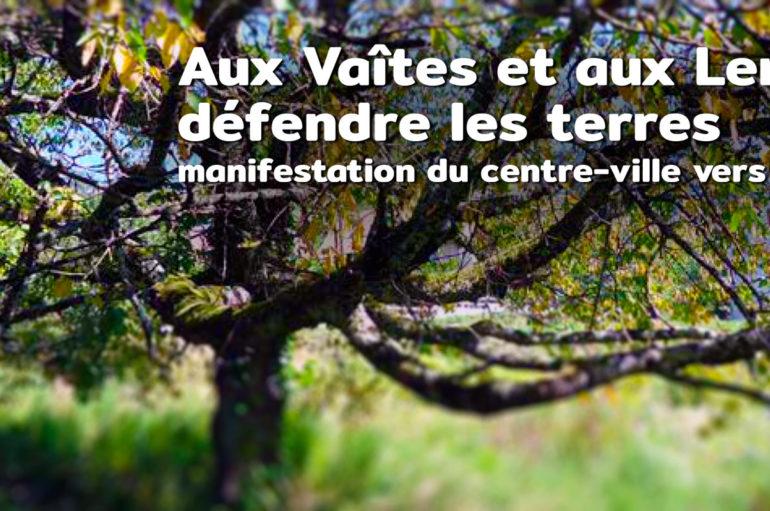 """Communiqué: Appel à manifestation """"Les soulèvements de la Terre Saison 1"""""""