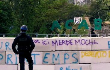VIDÉO: Expulsion au jardin de l'engrenage à Dijon