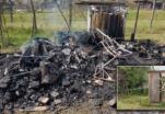 Incendie criminel aux Vaîtes – Communiqué
