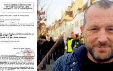 Frédéric Vuillaume convoqué par la police … à nouveau