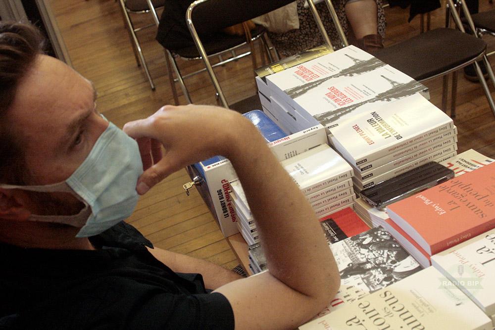 """Librairie Les Sandales d'Empedocle - 09-09-21 / Conférence """"Ici on noya les Algériens"""" à Besançon"""