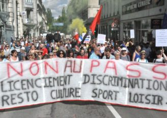 Pass sanitaire: à Besançon, une mobilisation stable
